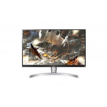 """LG 27UL650-W LED display 68,6 cm (27"""") 4K Ultra HD Plana Mate Plata"""