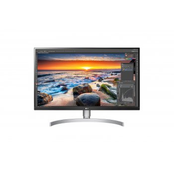 "LG 27UL850-W pantalla para PC 68,6 cm (27"") 4K Ultra HD LED Plana Mate Plata"