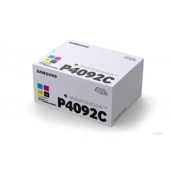 HP CLT-P4092C Original Negro, Cian, Magenta, Amarillo 4 pieza(s)