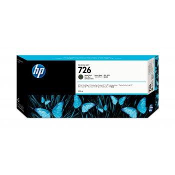 HP 726 Original Negro mate