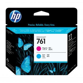 HP Cabezal de impresión DesignJet 761 magenta cian