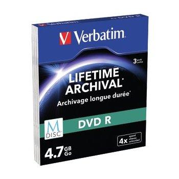 Verbatim 4.7GB DVD-R 4,7 GB 3 pieza(s)