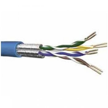 U FTP CABLE CAT.6 DCA BLUE 305M
