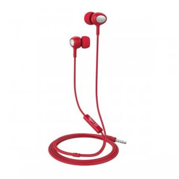 AURICULARES C MICRO UP500 ROJO