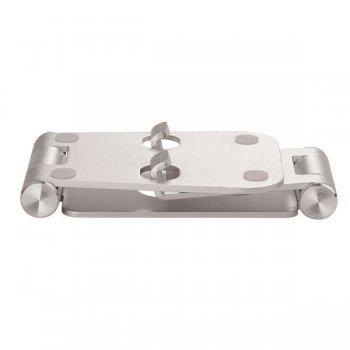 StarTech.com Base para Móvil y Tablet - Aluminio - Plegable - Soporte Ajustable para Tablet - Soporte Multidispositivo