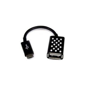 Belkin Micro-USB - USB A M F cable USB 2.0 Micro-USB A Negro