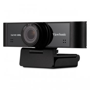 Viewsonic 1080p ultra-wide USB camera with built-in microphones compatible with Windows and Mac,compatible for IFP5550