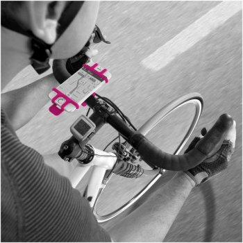Celly Easy Bike Teléfono móvil smartphone Rosa Soporte pasivo