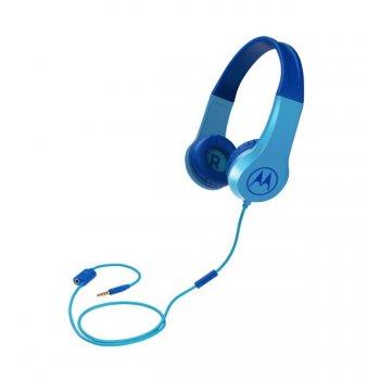Motorola Squads 200 auriculares para móvil Binaural Diadema Azul