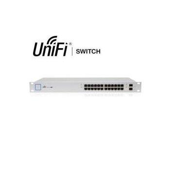 Ubiquiti Networks UniFi US-24-250W switch Gestionado Gigabit Ethernet (10 100 1000) Plata 1U Energía sobre Ethernet (PoE)