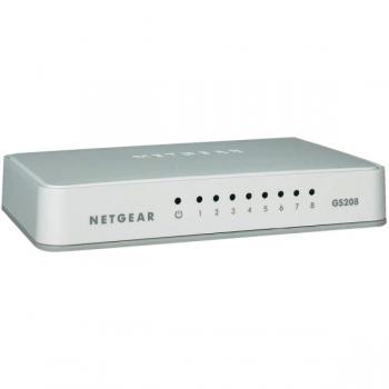 Netgear GS208 Gigabit Ethernet (10 100 1000) Blanco