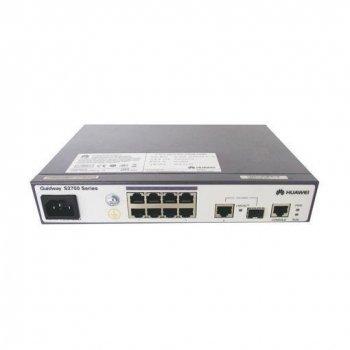 Huawei S1720-10GW-PWR-2P-E Gestionado Gigabit Ethernet (10 100 1000) Negro, Gris 1U Energía sobre Ethernet (PoE)