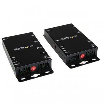 StarTech.com Juego Kit Extensor Vídeo y Audio HDMI por Cat5 RJ45 Control Puerto Serie e IR - 100m