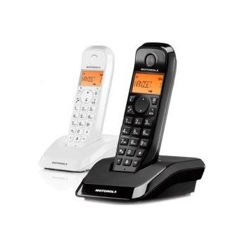 DECT SERIE S12 DUO BLACK WHITE