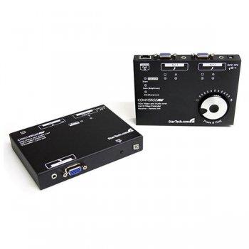 StarTech.com Kit Juego Extensor de Vídeo VGA Audio por Cable Cat5 UTP Ethernet de Red - 300m