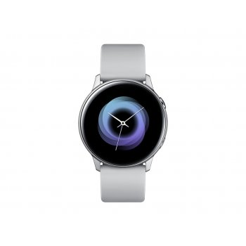 "Samsung Galaxy Watch Active reloj inteligente Plata SAMOLED 2,79 cm (1.1"") GPS (satélite)"