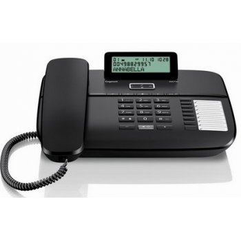 Gigaset DA710 Teléfono DECT Negro