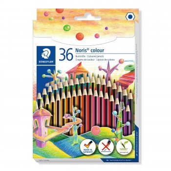 Staedtler Noris colour 185 laápiz de color 36 pieza(s) Multicolor