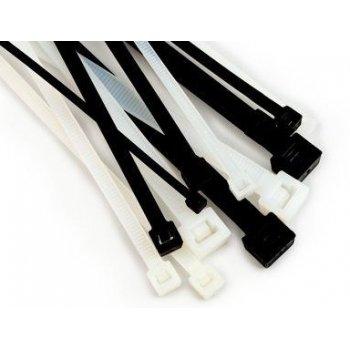 3M KE234000104 presilla Releasable cable tie Poliamida Blanco 100 pieza(s)
