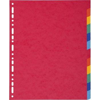 Exacompta 2412E divisor Multicolor