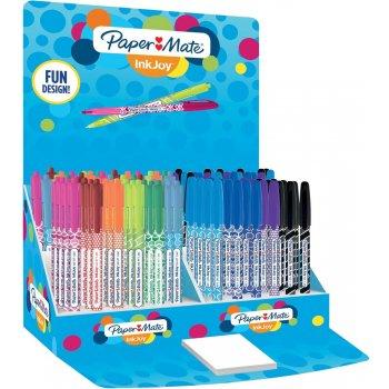 Papermate InkJoy 100 RT Multicolor Clip-on retractable ballpoint pen Medio 150 pieza(s)
