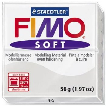 Staedtler FIMO soft Arcilla de modelar Gris 56 g 1 pieza(s)