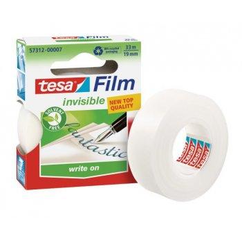 TESA Invisible 33mx19mm cinta adhesiva 33 m Transparente 1 pieza(s)