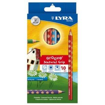 Lyra Groove laápiz de color 10 pieza(s) Multicolor