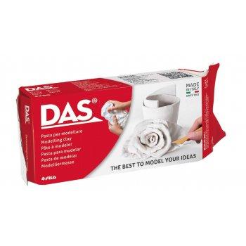 DAS 387000 compuesto para cerámica y modelaje Arcilla de modelar Blanco 500 g 1 pieza(s)