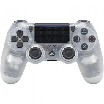 Sony Dualshock 4 V2 Gamepad PlayStation 4 Analógico Digital Bluetooth USB Translúcido, Blanco