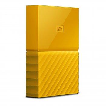 Western Digital My Passport disco duro externo 4000 GB Amarillo