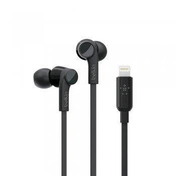 Belkin Rockstar Auriculares Dentro de oído Negro