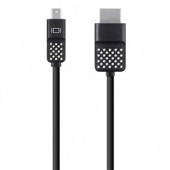Belkin Mini DisplayPort to HDTV Cable 3,6 m HDMI Negro