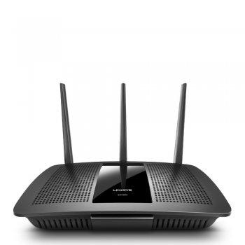 Linksys EA7300 router inalámbrico Doble banda (2,4 GHz   5 GHz) Gigabit Ethernet Negro