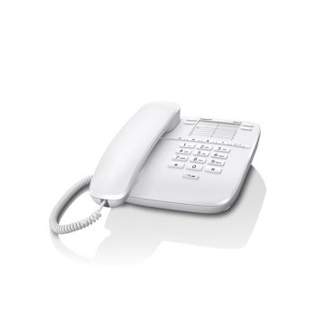 Gigaset DA310 Teléfono analógico Blanco