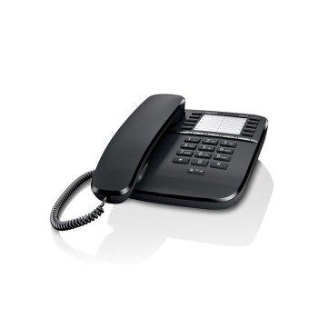 Gigaset DA510 Teléfono analógico Negro
