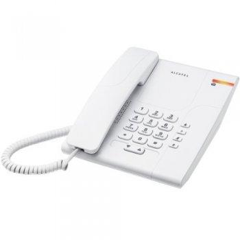 Alcatel Temporis 180 Teléfono DECT Blanco Identificador de llamadas