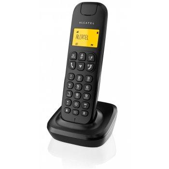 Alcatel D135 Teléfono DECT Negro Identificador de llamadas