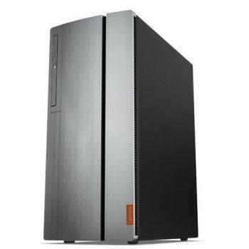 Lenovo IdeaCentre 720 AMD Ryzen 5 1400 8 GB DDR4-SDRAM 1000 GB Unidad de disco duro Negro, Plata Torre PC