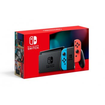 "Nintendo Switch (New revised model) videoconsola portátil Negro, Azul, Rojo 15,8 cm (6.2"") 32 GB Wifi"