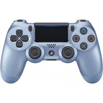 Sony DualShock 4 Gamepad PlayStation 4 Analógico Digital Bluetooth Azul, Titanio