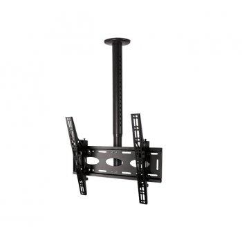 """B-Tech BT8426 soporte de techo para pantalla plana 165,1 cm (65"""") Negro"""