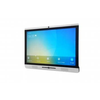 """Newline X5 pantalla de señalización 139,7 cm (55"""") LED Full HD Pantalla táctil Panel plano interactivo Negro, Plata"""