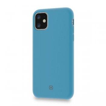 """Celly LEAF funda para teléfono móvil 15,5 cm (6.1"""") Azul"""