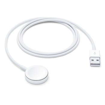 Apple MX2E2ZM A accesorio de relojes inteligentes Cable de carga Blanco