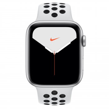 Apple Watch Nike Series 5 reloj inteligente Plata OLED GPS (satélite)