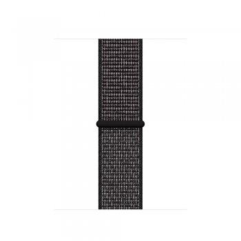 Apple MX7Y2ZM A accesorio de relojes inteligentes Grupo de rock Negro Nylon