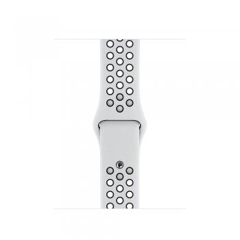 Apple MX8D2ZM A accesorio de relojes inteligentes Grupo de rock Negro, Platino Fluoroelastómero