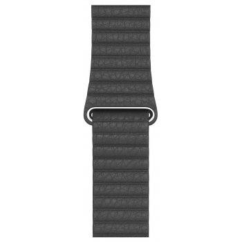 Apple MXAC2ZM A accesorio de relojes inteligentes Grupo de rock Negro Cuero
