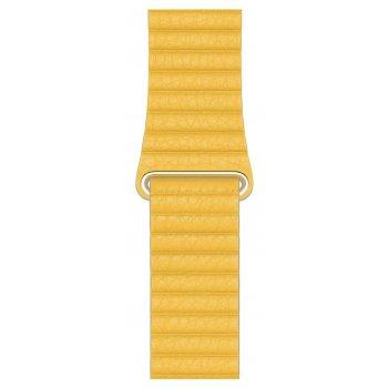Apple MXAD2ZM A accesorio de relojes inteligentes Grupo de rock Amarillo Cuero